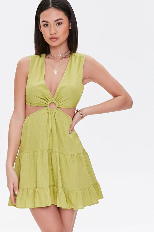 Cutout O-Ring Mini Dress, image 5