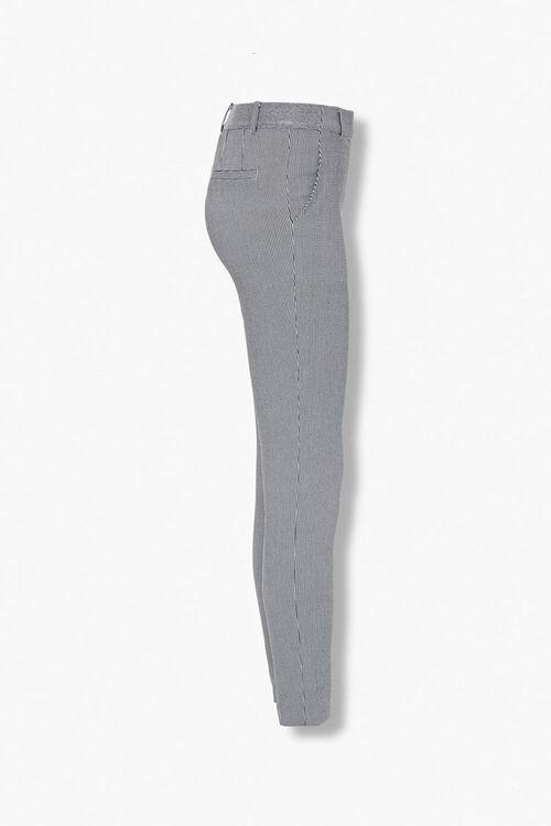 BLACK/CREAM Glen Plaid Ankle Pants, image 2