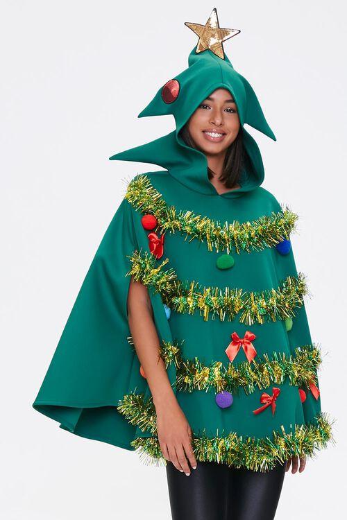 Christmas Tree Poncho, image 1