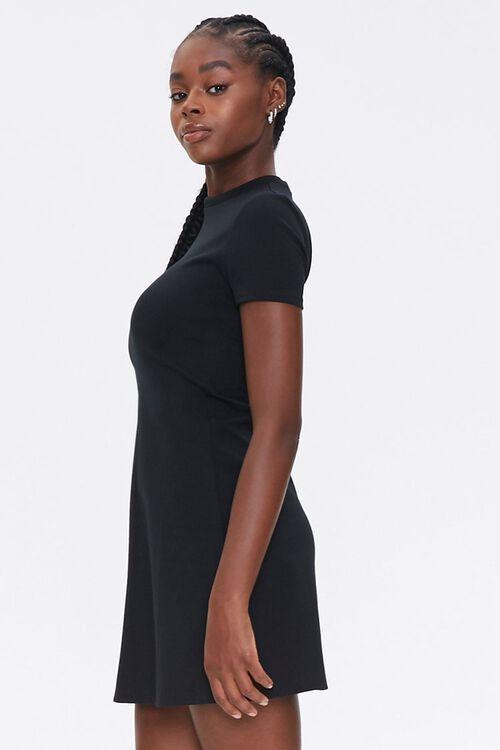 Mock Neck Mini Dress, image 2