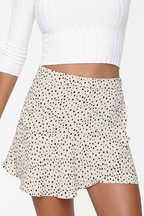 Spotted Print Mini Skirt, image 2
