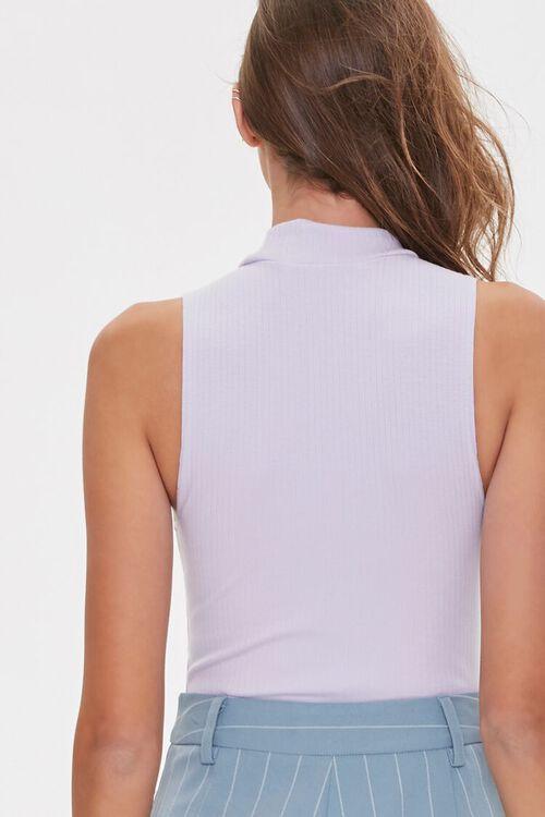 Sleeveless Turtleneck Bodysuit, image 3