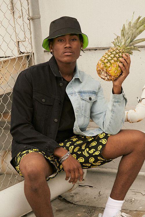 80s Windbreakers, Jackets, Coats | 90s Outerwear Reworked Denim Jacket in Denim WashedBlack Large $34.99 AT vintagedancer.com