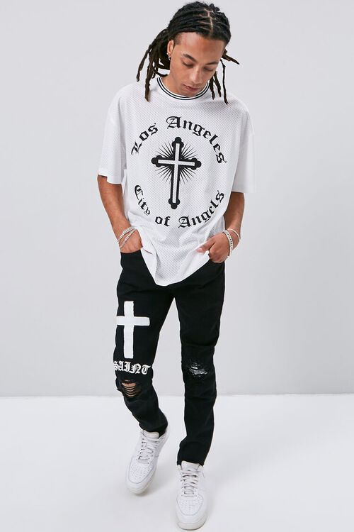 Los Angeles Graphic Jersey Mesh Tee, image 4