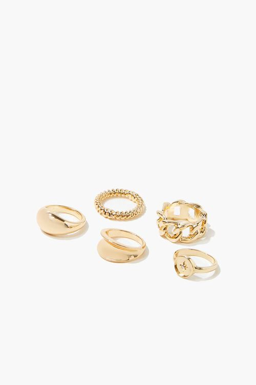 High-Polish Ring Set, image 1