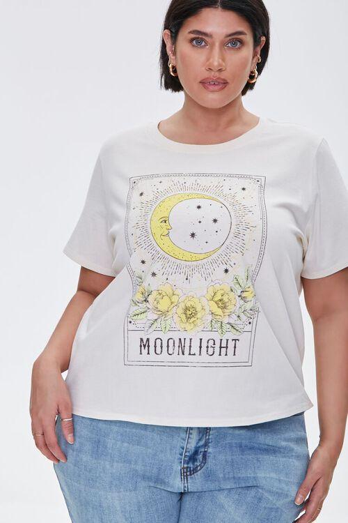 Plus Size Moonlight Graphic Tee, image 1