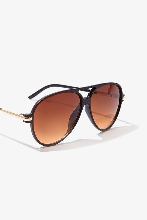 Tinted Aviator Sunglasses, image 4