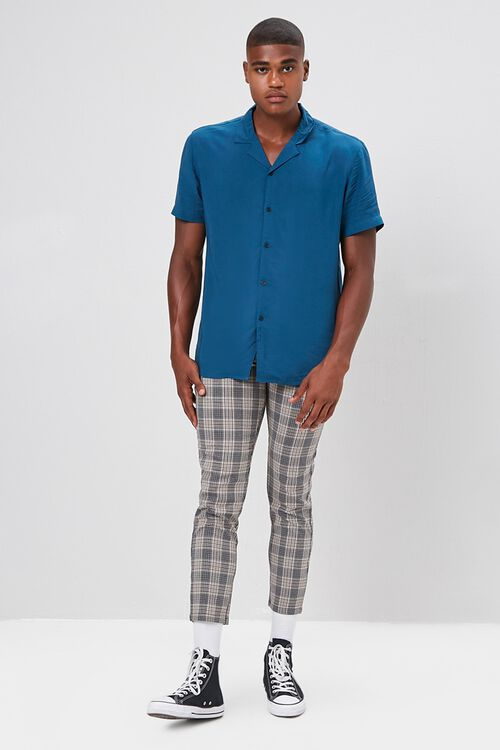 Classic-Fit Cuban Collar Shirt, image 4
