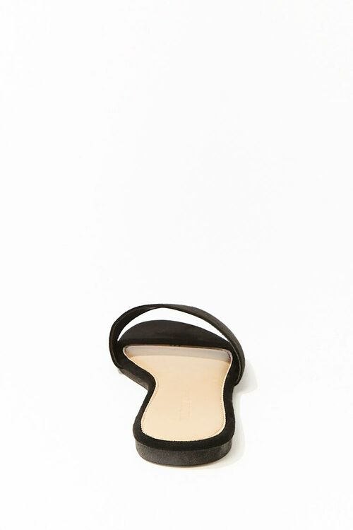 Faux Suede Slip-On Sandals, image 3
