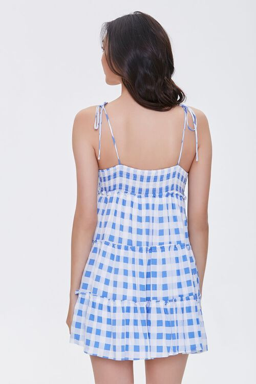 Buffalo Plaid Cami Mini Dress, image 3