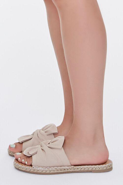 Bow-Top Espadrille Flatform Sandals, image 2