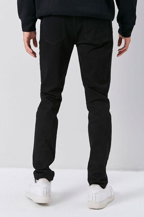Rhinestone-Trim Skinny Jeans, image 4