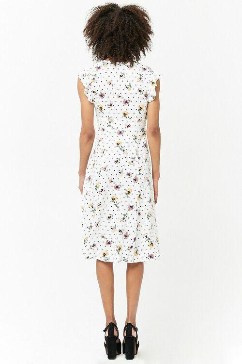 Floral Plunging Dress, image 3