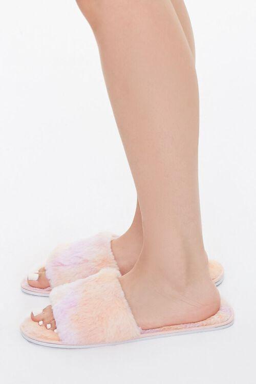 Cloud Wash Faux Fur Slippers, image 2