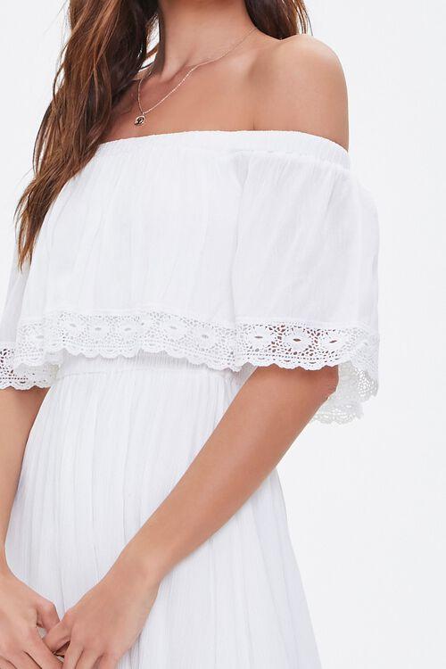 Crochet Off-the-Shoulder Dress, image 5