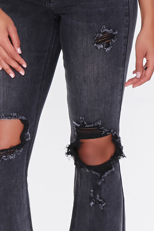 Distressed Flare Jeans, image 5