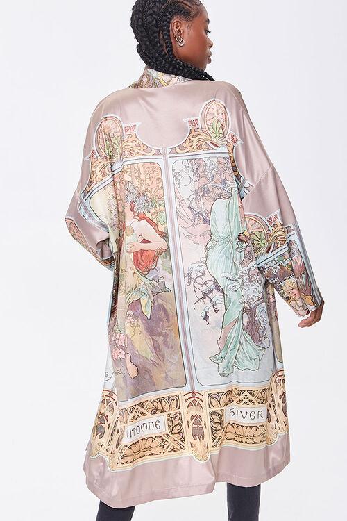 Alphonse Mucha Print Kimono, image 3