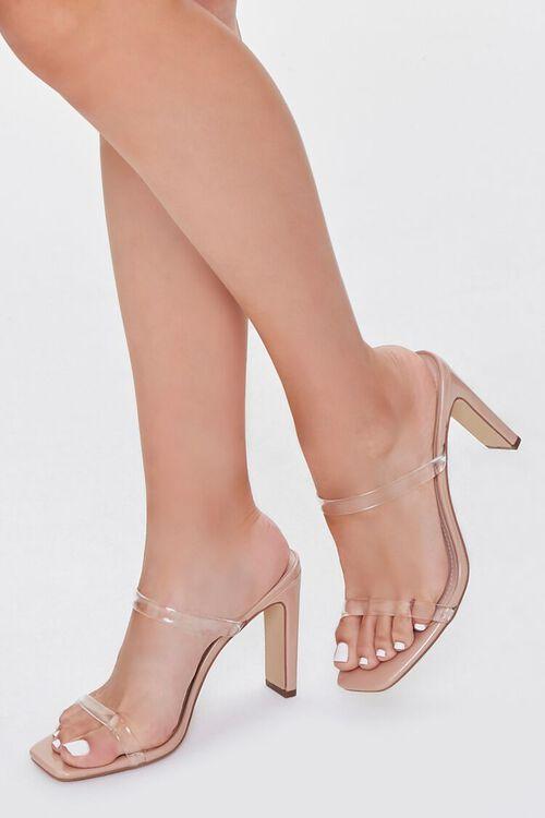 Square Toe Block Heels, image 1