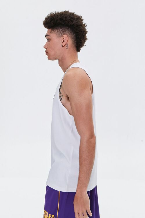 LA Lakers Embroidered Graphic Tank Top, image 3