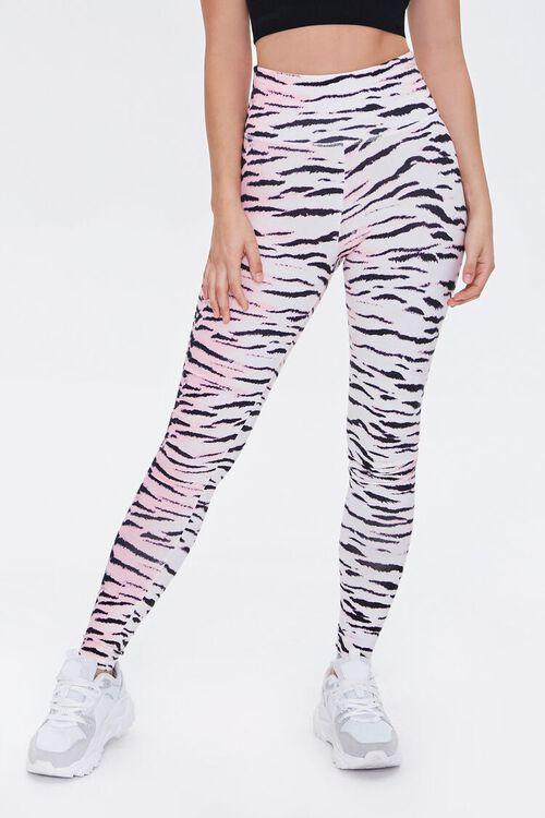 Active Tiger Striped Leggings, image 2