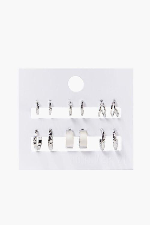 Assorted Hoop Earring Set, image 2