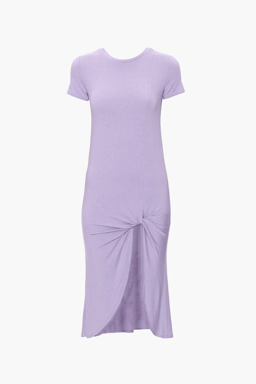 Knotted T-Shirt Dress, image 1