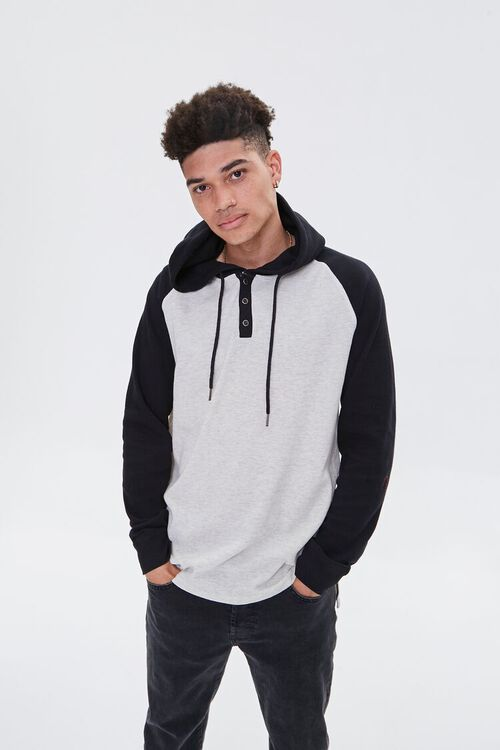 Colorblock Hooded Top, image 1