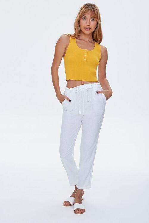 Linen Ankle Pants, image 1