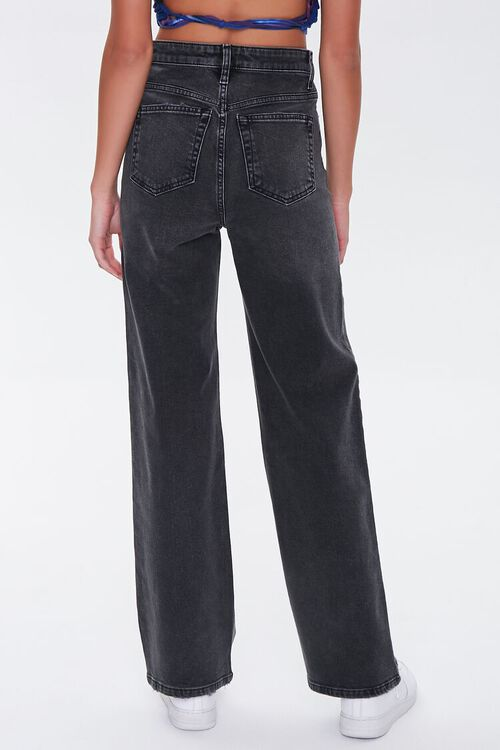 Faded Straight-Leg Jeans, image 4
