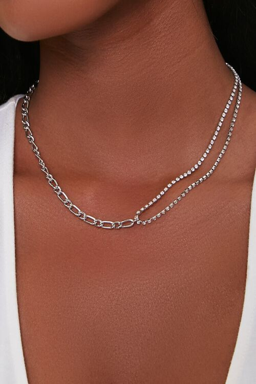 Figaro & Box Chain Necklace, image 1