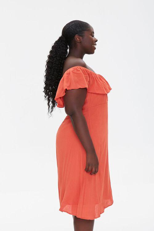 Plus Size Off-the-Shoulder Dress, image 2