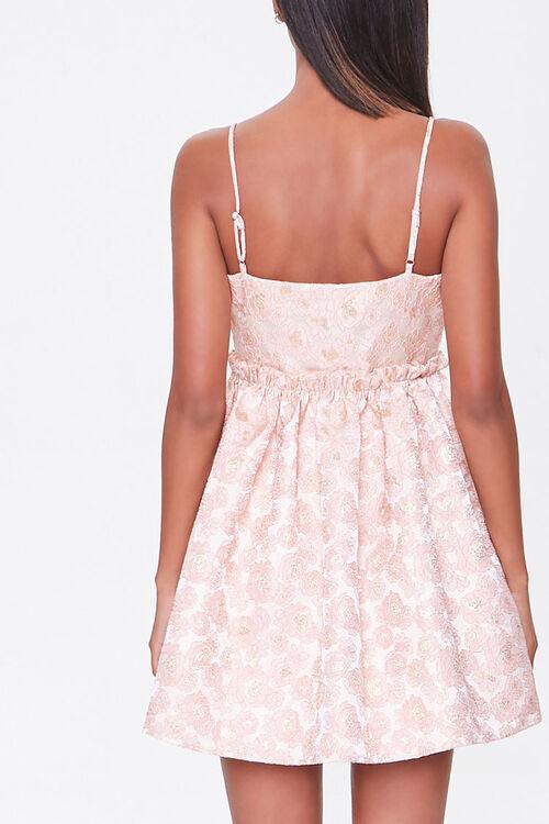 Jacquard Rose Print Dress, image 3