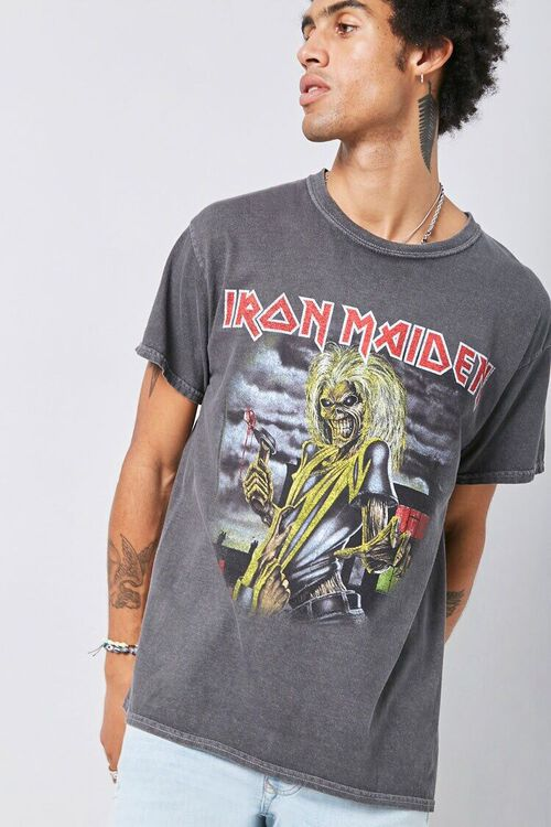 CHARCOAL/MULTI Iron Maiden Graphic Tee, image 1