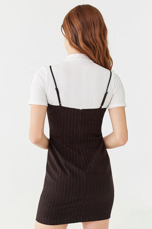 Pinstriped Mini Dress, image 3