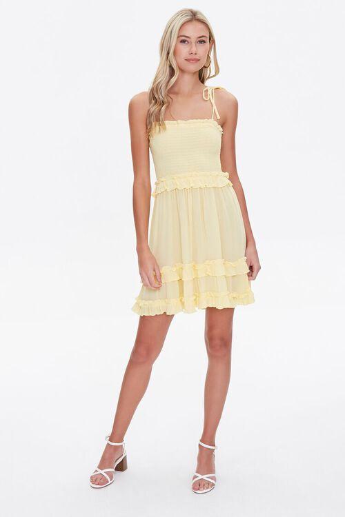 Ruffle-Trim Cami Dress, image 4