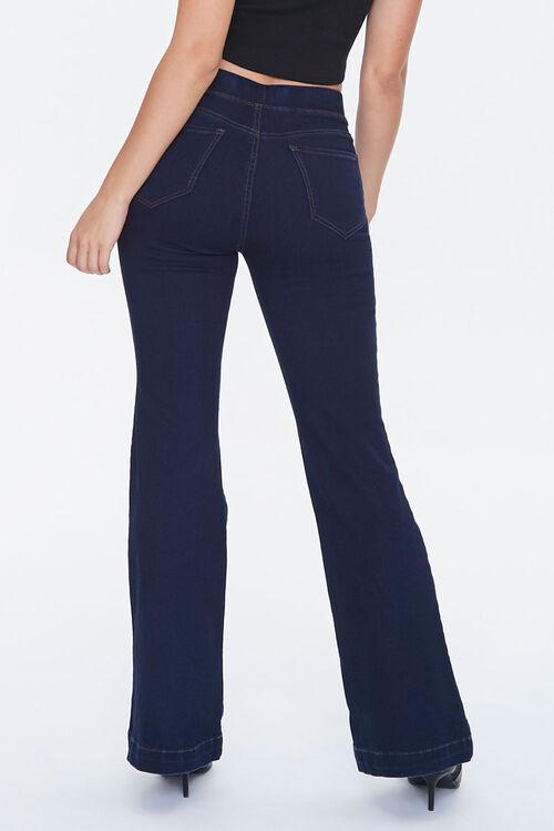 DARK DENIM High-Rise Flare Jeans, image 4