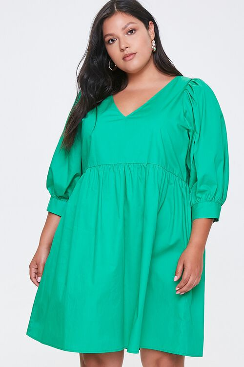 Plus Size Cutout Mini Dress, image 1