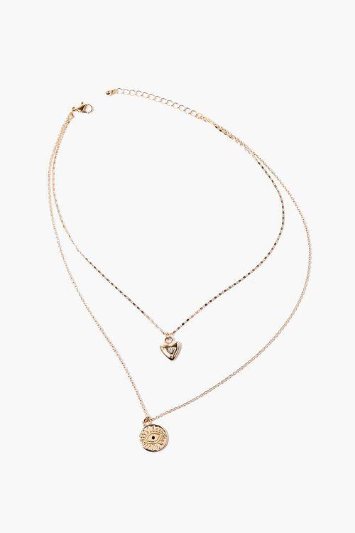 Eye Pendant Layered Necklace, image 2