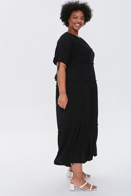 Plus Size Tiered Maxi Dress, image 2