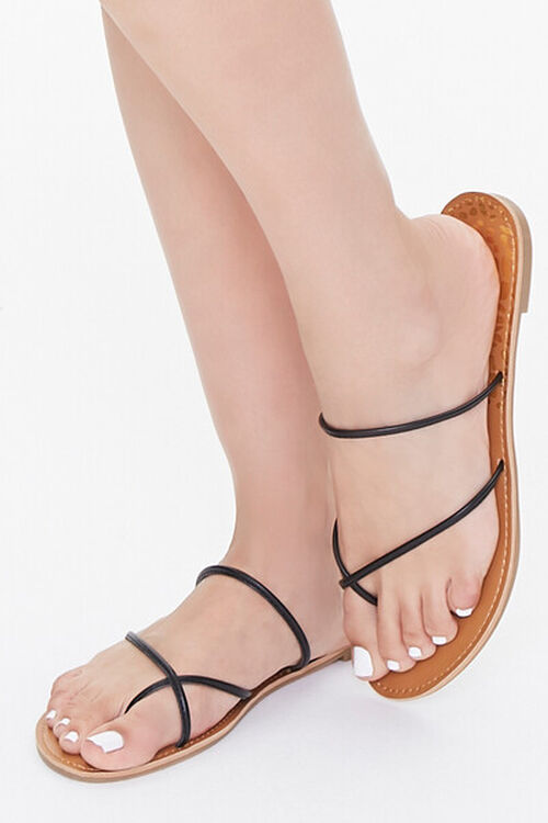 Strappy Toe-Ring Sandals, image 1