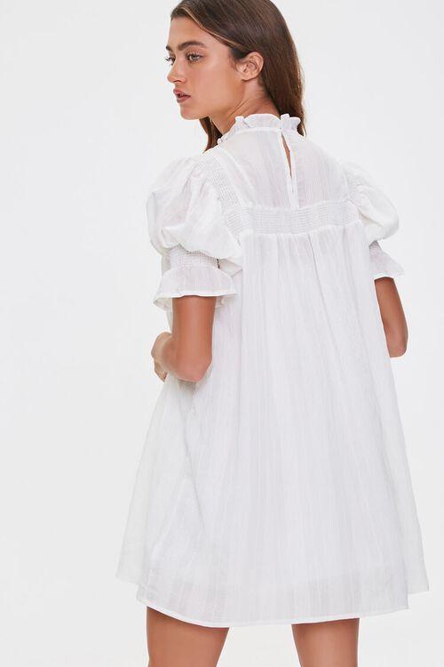 Ruffled Puff Sleeve Dress, image 3