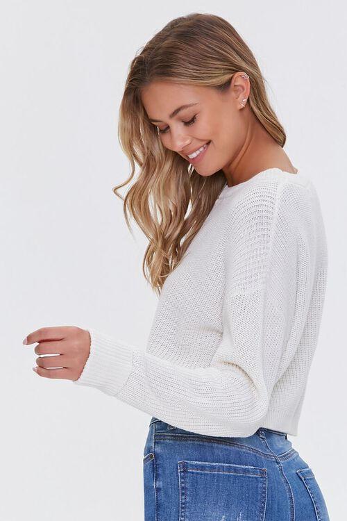 Ribbed Dropped-Sleeve Sweater, image 2