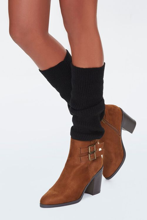 Ribbed Knit Leg Warmers, image 2