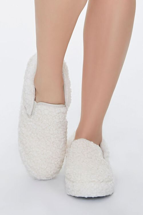 Faux Shearling Slip-On Sneakers, image 4
