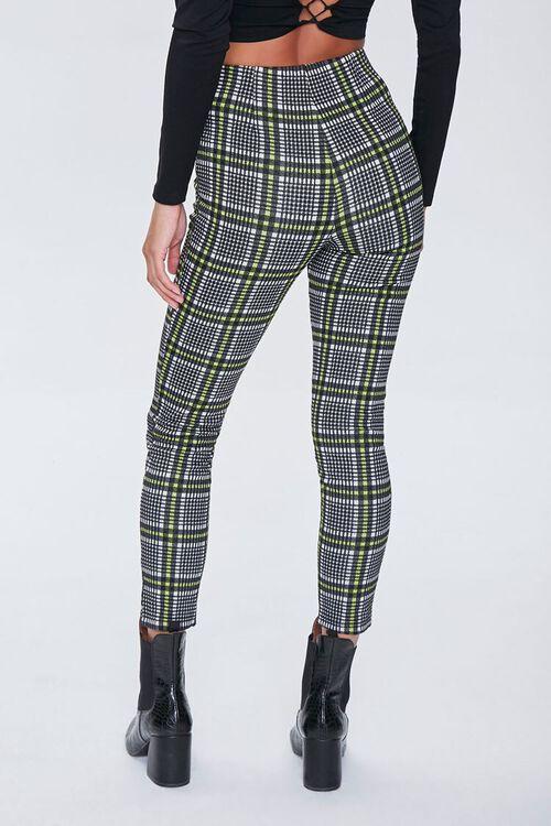GREY/MULTI Glen Plaid D-Ring Ankle Pants, image 3