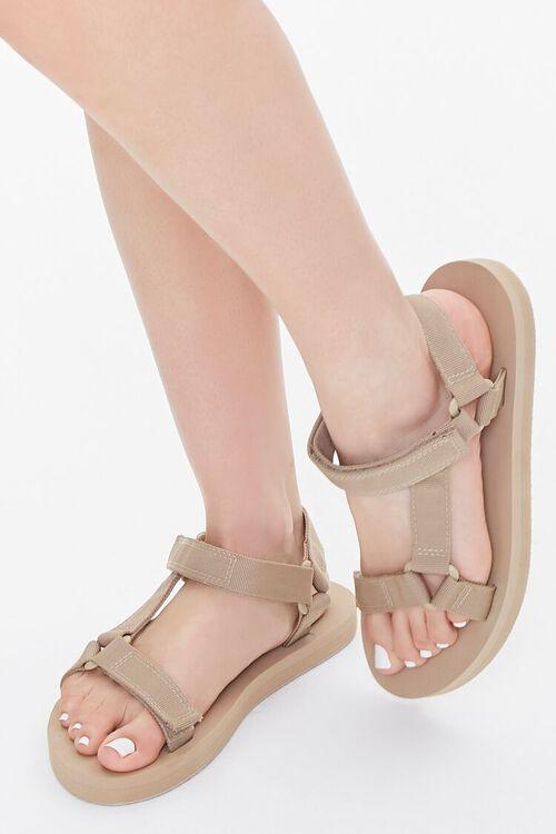 Adjustable Flatform Sandals, image 1