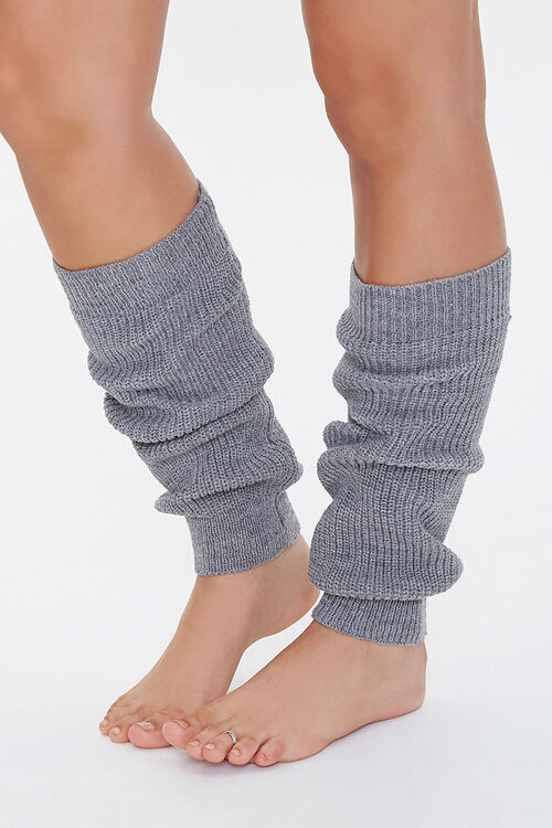 Ribbed Knit Leg Warmers, image 1