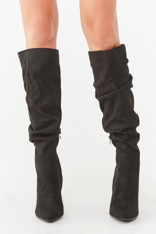 Slouchy Knee-High Boots, image 2