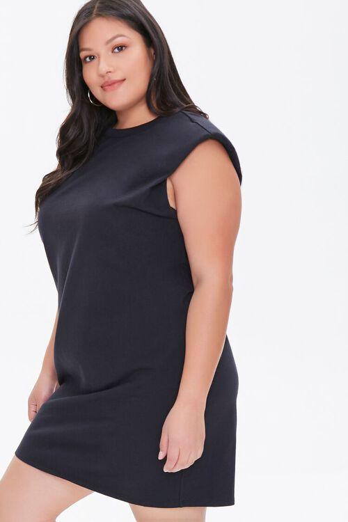 Plus Size T-Shirt Mini Dress, image 1