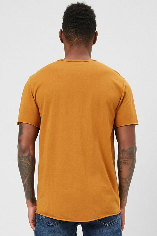 Rolled-Trim Knit Tee, image 3